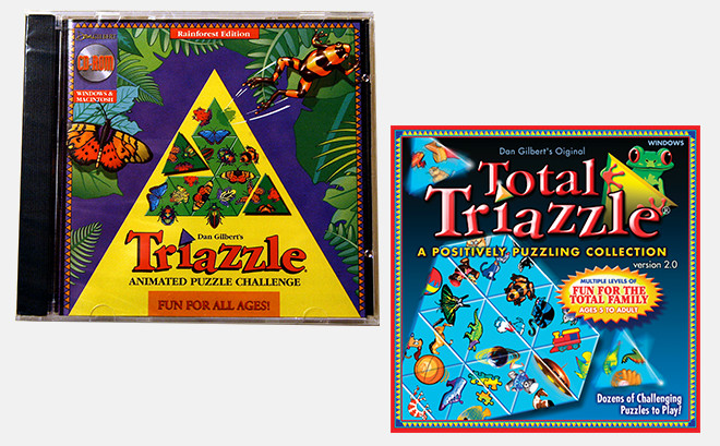 Triazzle Brain Teaser Puzzle | Dan Gilbert Art Group